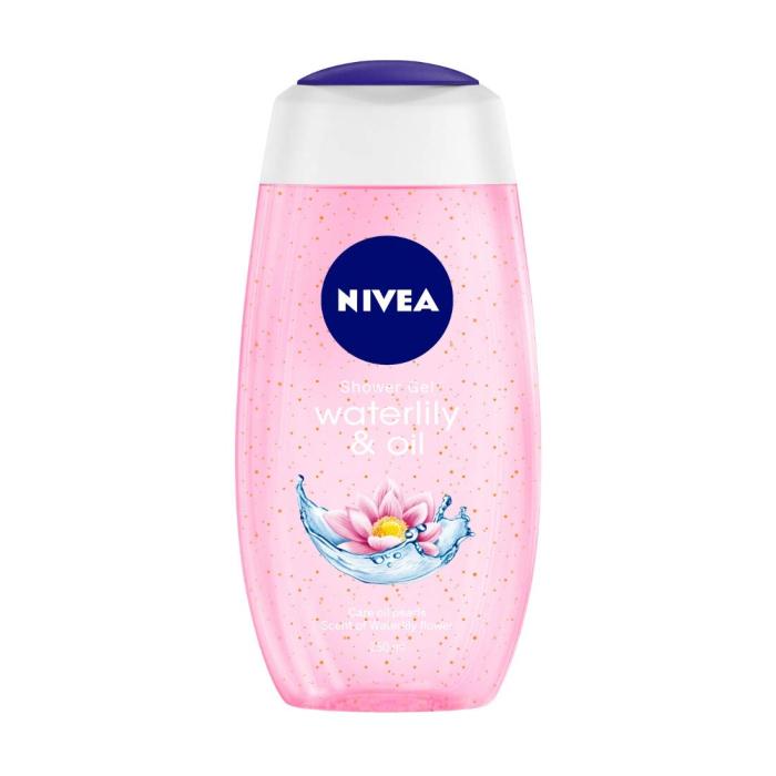 NIVEA Shower Gel For Women Waterlily & Oil 250Ml