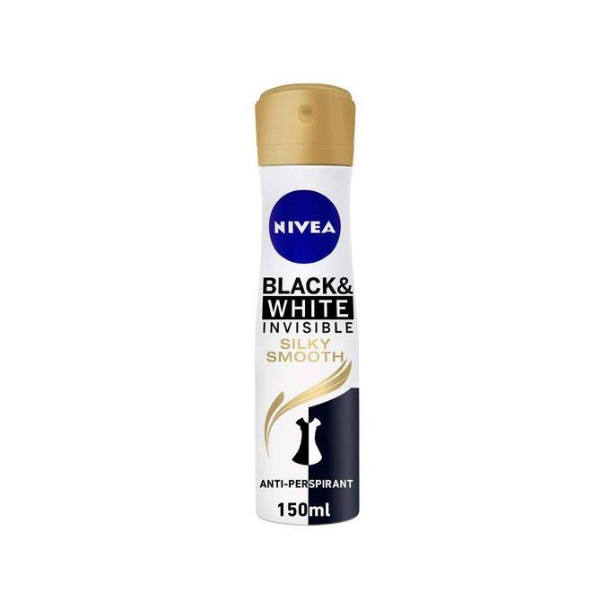 NIVEA Deodorant Spray Invisible Black & White Silky Smooth Female