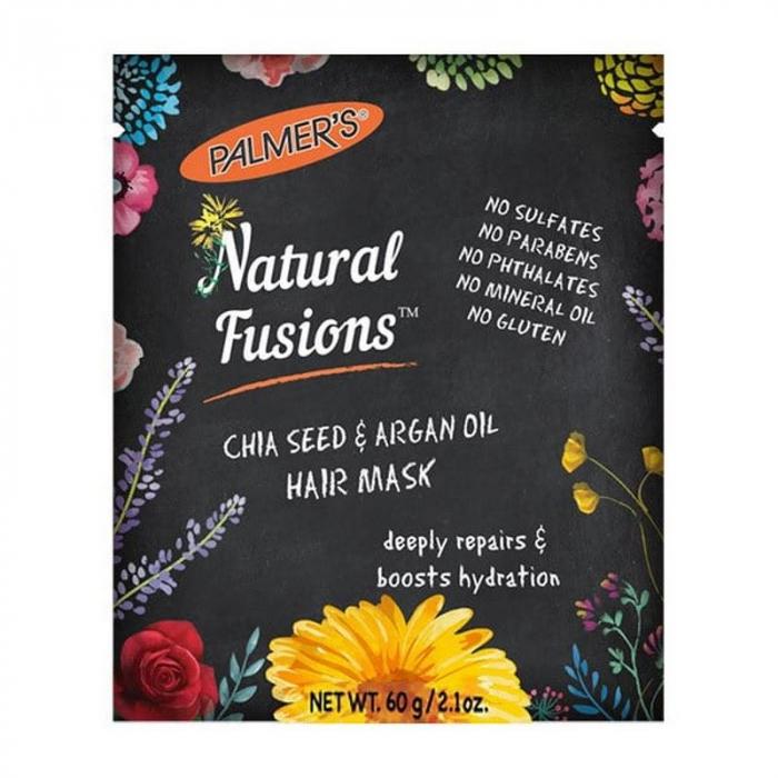 Palmer's Natural Fusions™ Chia Seed & Argan Oil Hair Mask 60g