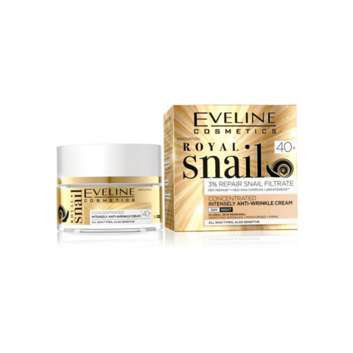 Eveline Royal Snail Concentrated Intensive Anti-Wrinkle Cream 40+ 50ml