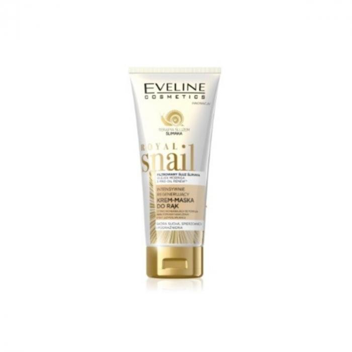 Eveline Royal Snail Intensively Regenerating Hand Cream-mask 100ml