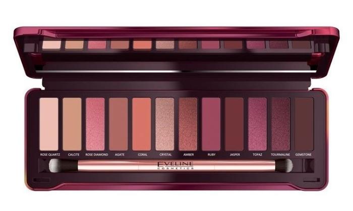 Eveline Cosmetcis Ruby Glamour Eye Shadow