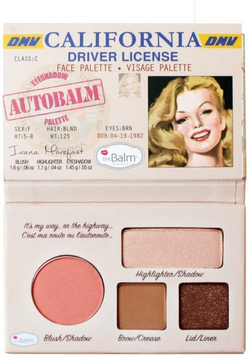 Thebalm California Driver License Face Pelette