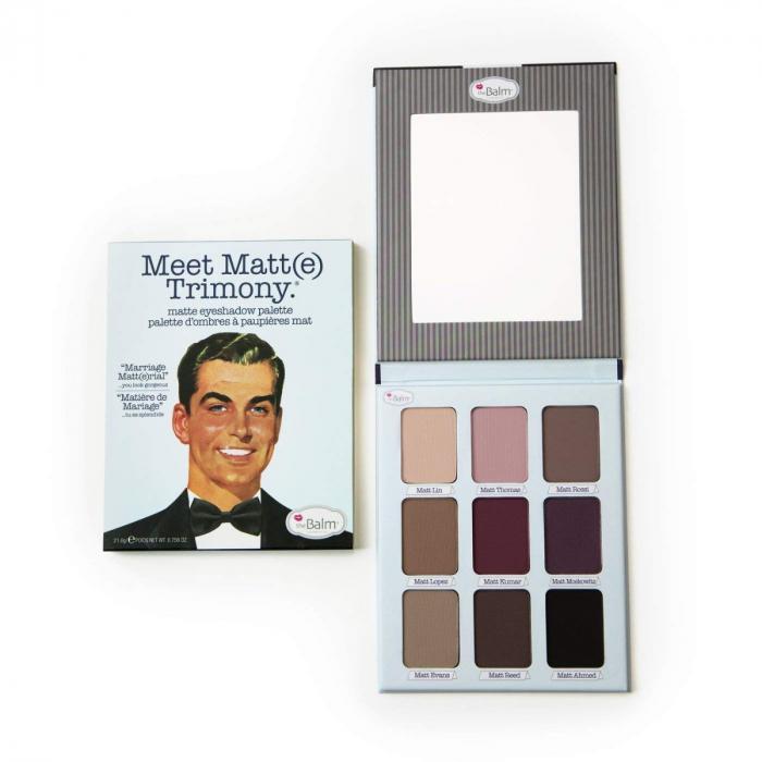 TheBalm Meet Matte Trimony Matte Eyeshadow Palette