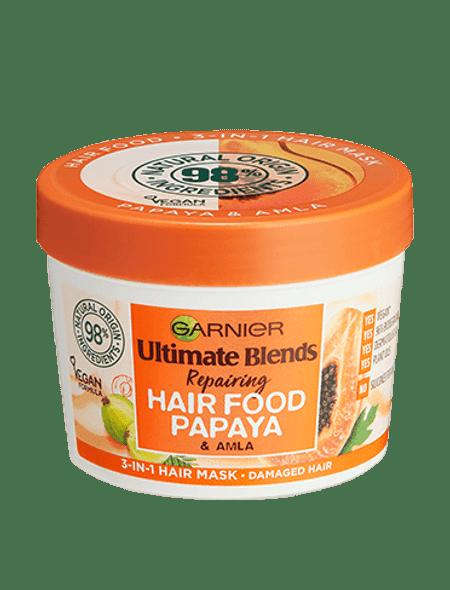 Garnier Ultimate Blends Hair Food PAPAYA AND ALMA HAIR FOOD 390ML