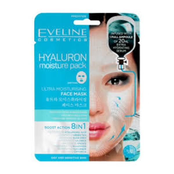 Eveline Hyaluron Moisture Pack Ultra Moisturising Face Mask