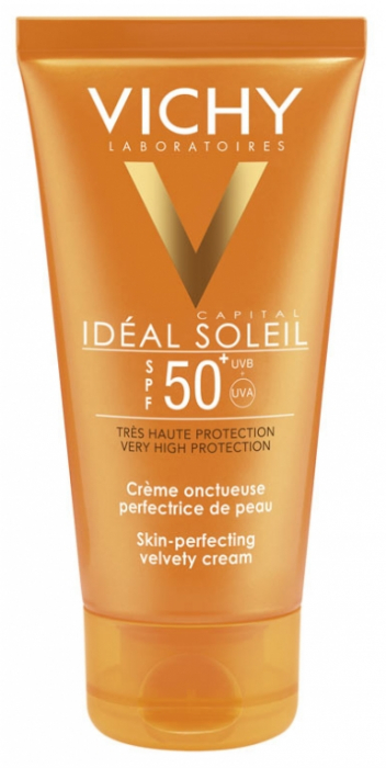 Vichy Ideal Soleil SPF 50 Velvety cream skin perfecting action